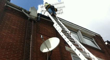 How to spot a cowboy aerial installer